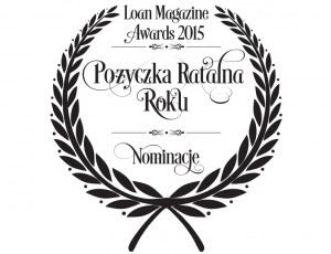 Ratka.pl została nominowana w kategorii pożyczka ratalna roku.