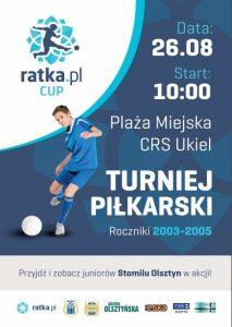 Ratka Cup 2017 odbędzie się 26 sierpnia!