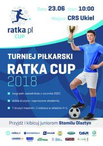Dnia 23 września 2018 odbędzie się Ratka.pl Cup!