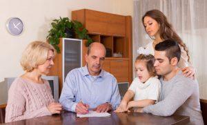 Najbliższa rodzina nie musi płacić podatku PCC.